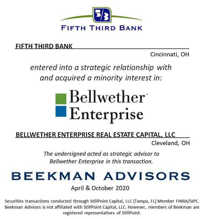 Fifth Third Bank & Bellwether Enterprise Real Estate Capital